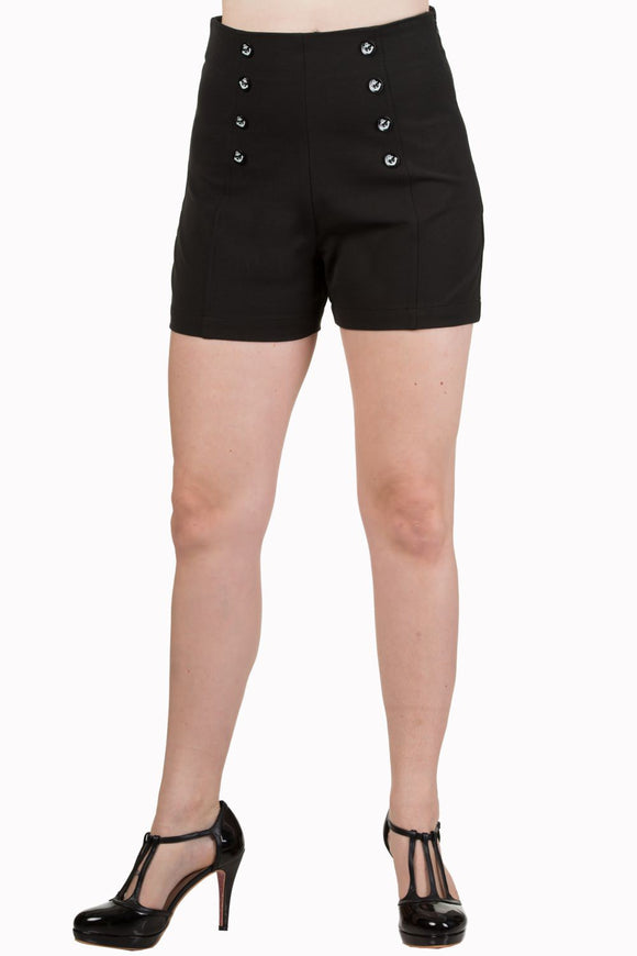 Banned Apparel - Stay Awhile Shorts - Egg n Chips London