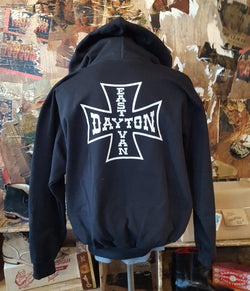 Hoody Dayton Cross (Black) - Men's