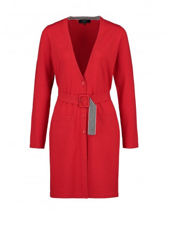 Claudia Strater Red Cardigan with Belt