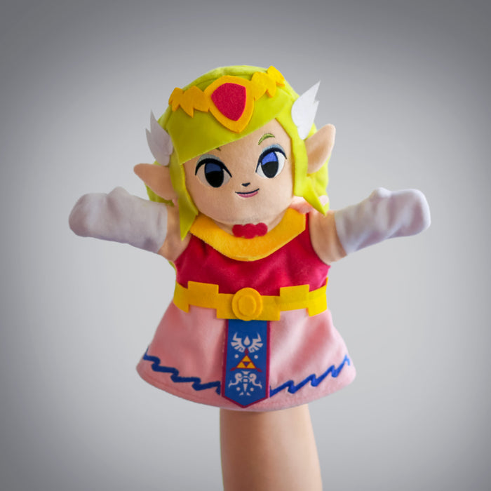 The Legend of Zelda: Princess Zelda puppet (frontal view)