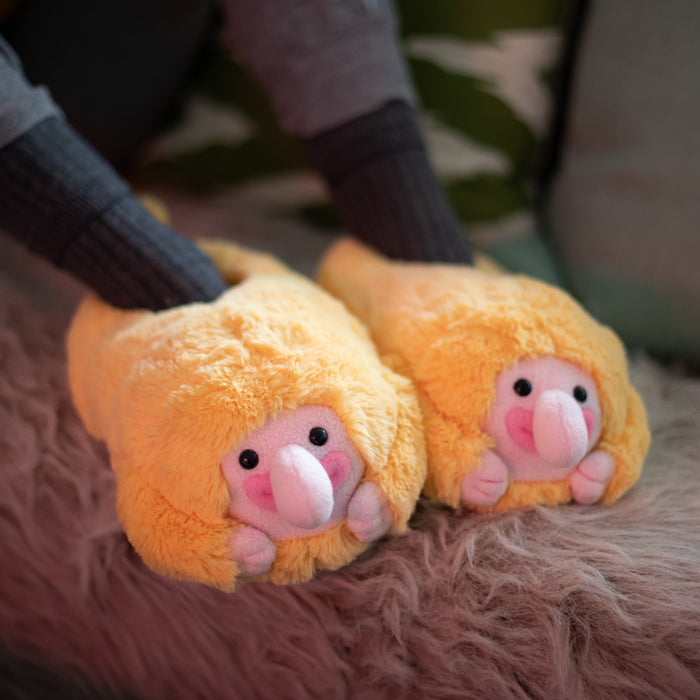 Proboscis Monkey Slippers