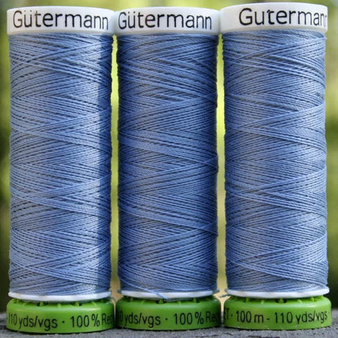 Recycled Polyester Thread 20-143 Copen Blue