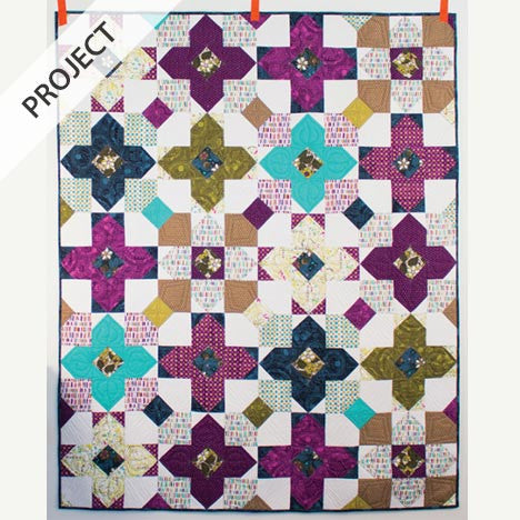 Pocket Full of Posies Quilt - Free Pattern