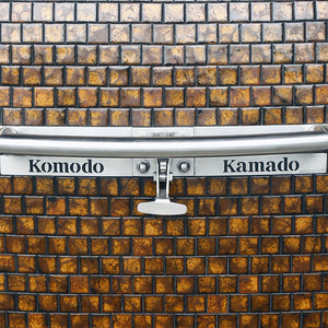 "32"" Big Bad, Dark Autumn Gold Flake - A7122M (ready stock CA) - KomodoKamado"
