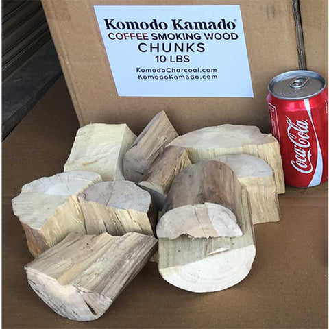 Coffee Smoking Wood ~ Big Chunks 10 lbs