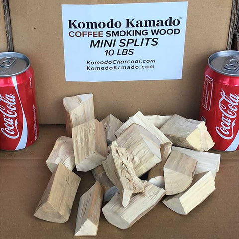 Coffee Smoking Wood ~ Mini Splits 10 lbs
