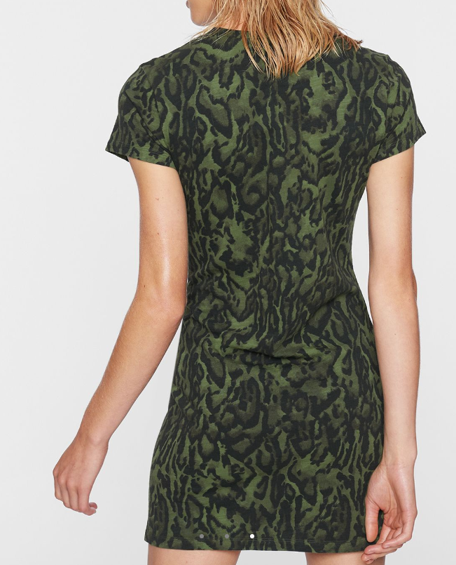 Pam & Gela Ocelot T Shirt Dress