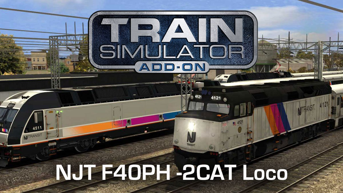 NJT F40PH -2CAT Loco Add-On