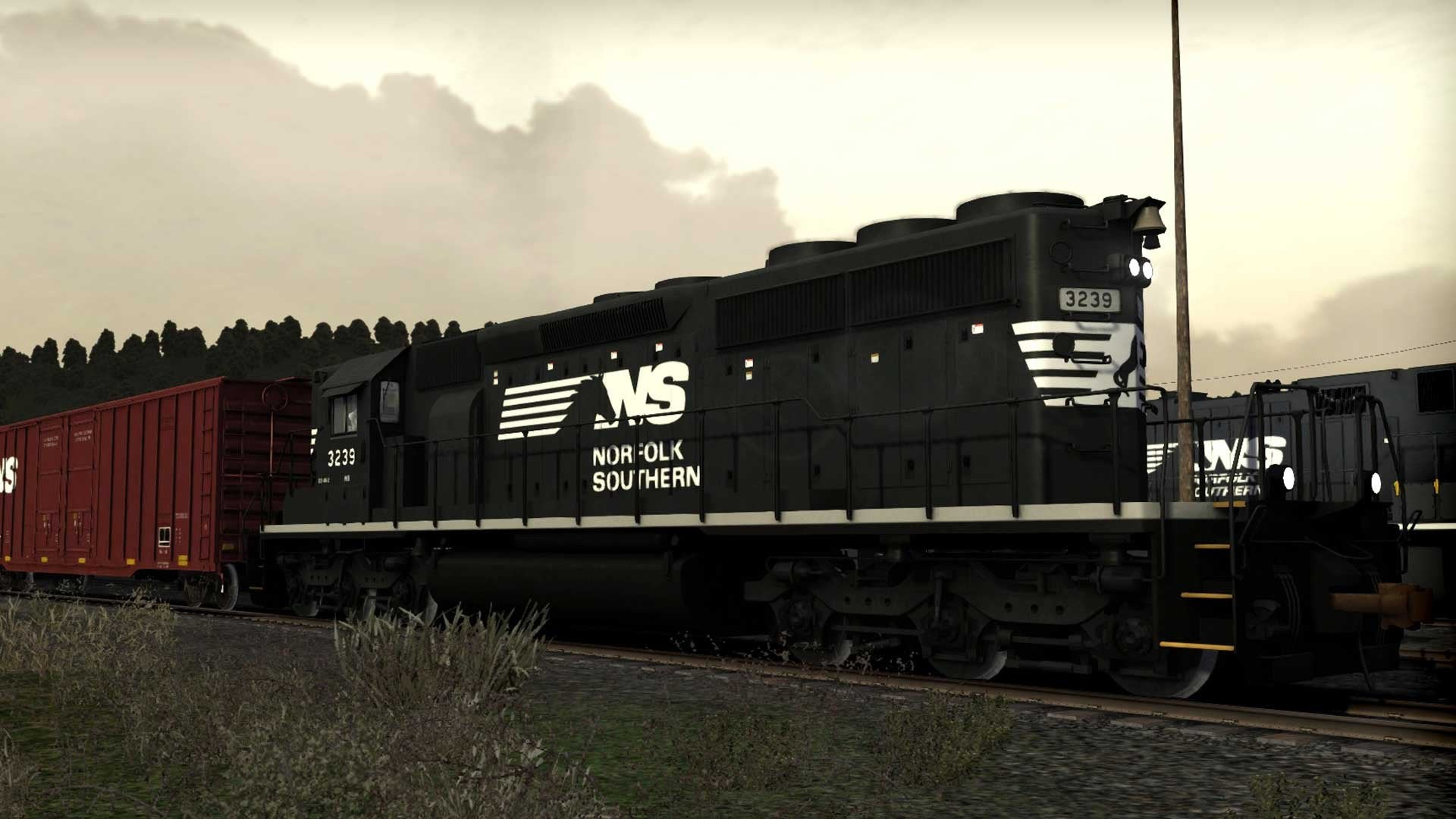 Norfolk Southern SD40-2 High Nose Long Hood Forward Loco Add-On