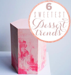 6 Hottest Dessert Trends That'll Have Your Mouth Watering
