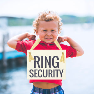 Ring Security Sign Ring Bearer