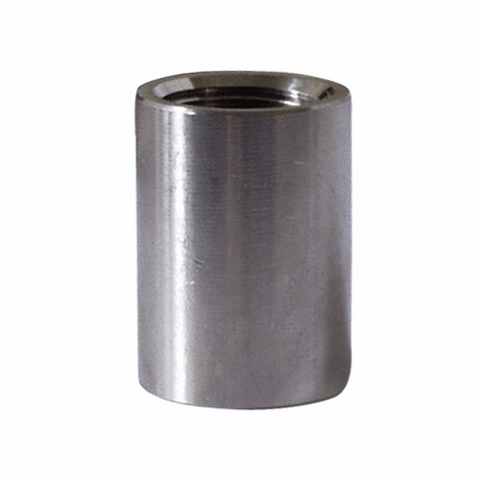 "Stainless 1/2"" FPT Full Coupler"