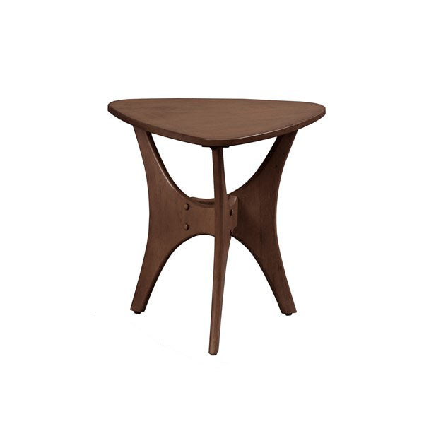 Triangle Wood  Side Table