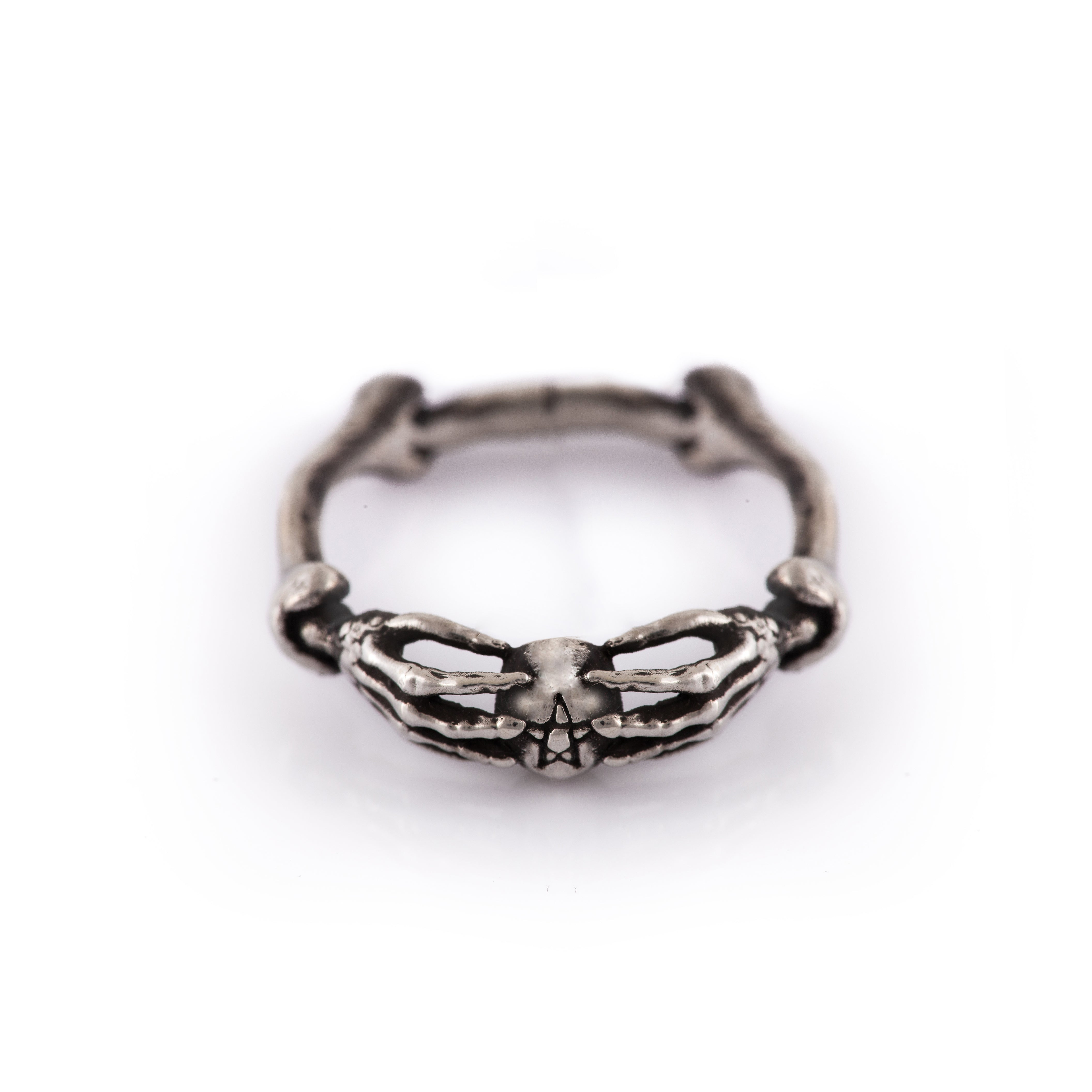 Oddities Articulated Hand Ring
