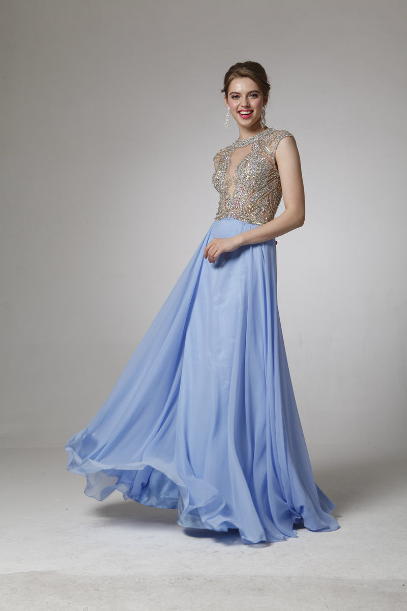 LONG DRESS STYLE #C8707 - NORMA REED - 1
