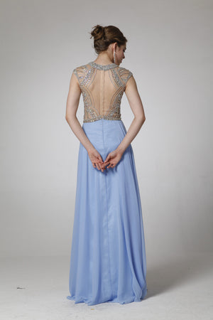 LONG DRESS STYLE #C8707 - NORMA REED - 2