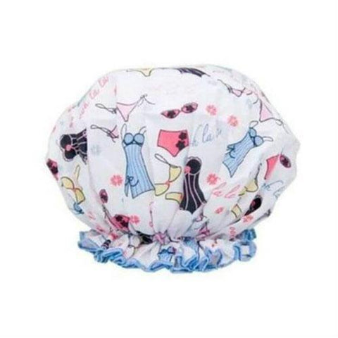 Spa Sister Bouffant Shower Cap - Lingerie Print