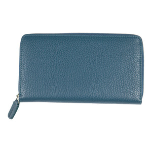 Canyon Ranch All In One Companion Leather Wallet - Jeans