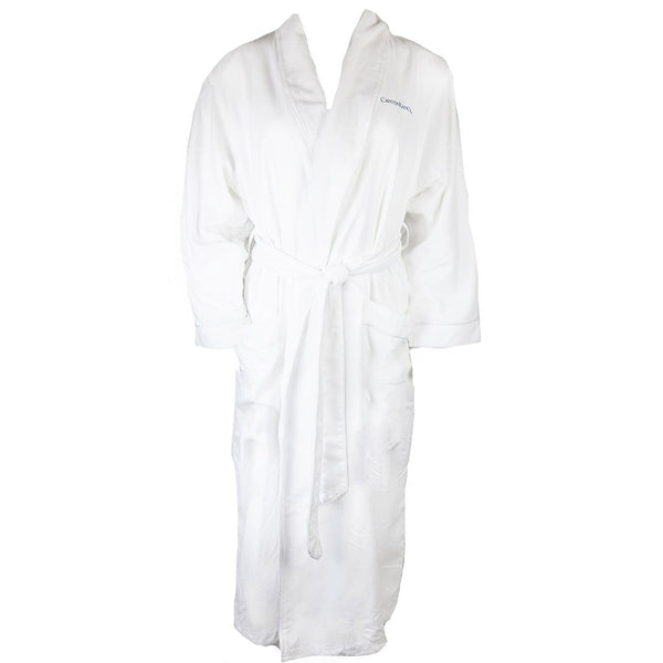 Canyon Ranch Microfiber Plush Robe - White