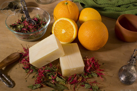 Orange Bergamot Avocado Oil Soap