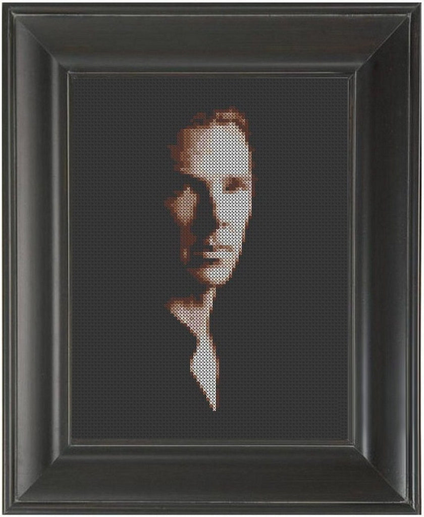 Benedict Cumberbatch - Cross Stitch Pattern Chart