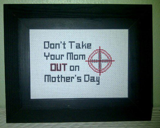Mother's Day - Cross Stitch Pattern Chart