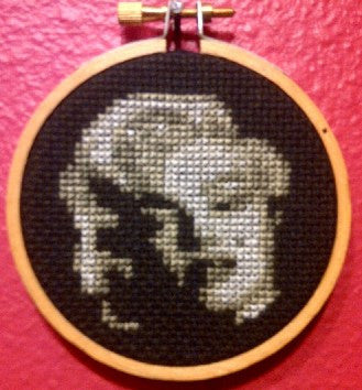 Marilyn Monroe Threezle - Cross Stitch Pattern Chart