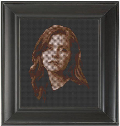 Amy Adams - Cross Stitch Pattern Chart