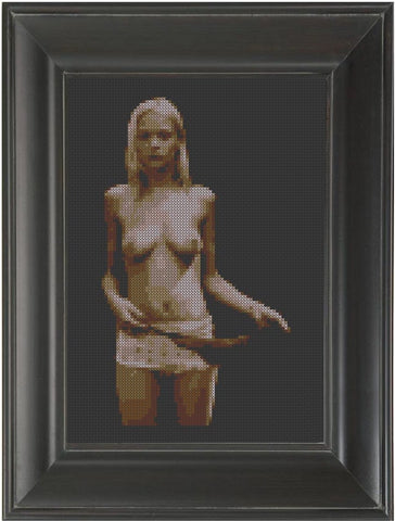 Antique - Cross Stitch Pattern Chart Erotic Nude Sexy NSFW