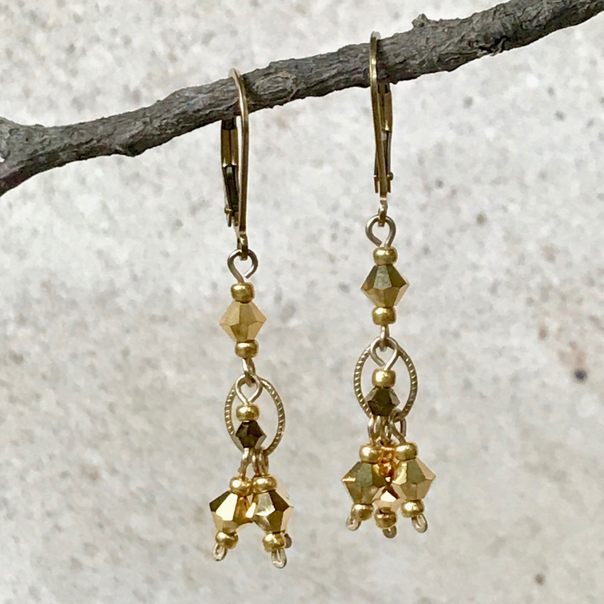 Mambo Dance Party — Crystal Earrings