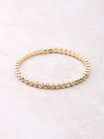 Dotted Wrap Bracelet Anarchy Street Gold