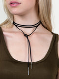 Infinite Drop Bar Choker