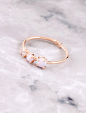 Triple Dot Ring Anarchy Street Rosegold