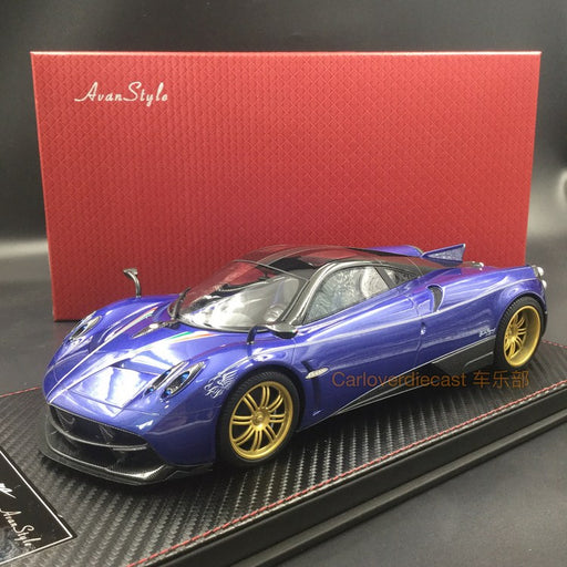 Avanstyle - Pagani Huayra Resin Scale 1:18 (Purple Blue) available  now (AS016-40)