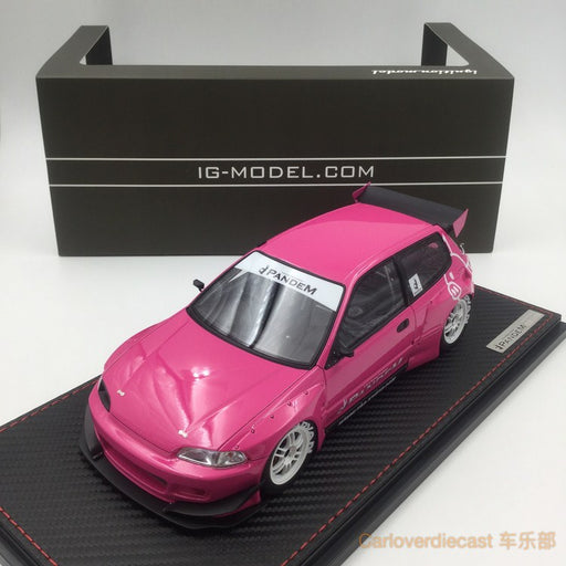 Ignition Model - Pandem Civic (EG6)Pink (EN-Whieel) available now (IG1052) free display cover