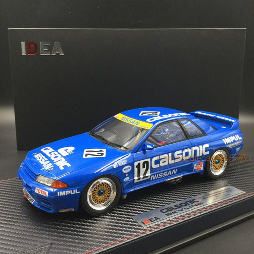 "Makeup Nissan Skyline GT-R (BNR32) Gr.A ""CALSONIC TEAM IMPAL"" No.12 JTC West Japan Circuit Winner resin scale 1:18 (IM020)"