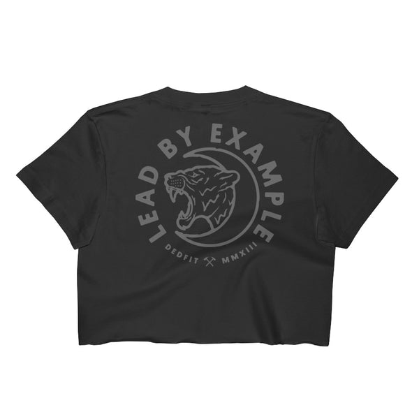 LBE Lioness Raw Crop Tee (Runs Small)