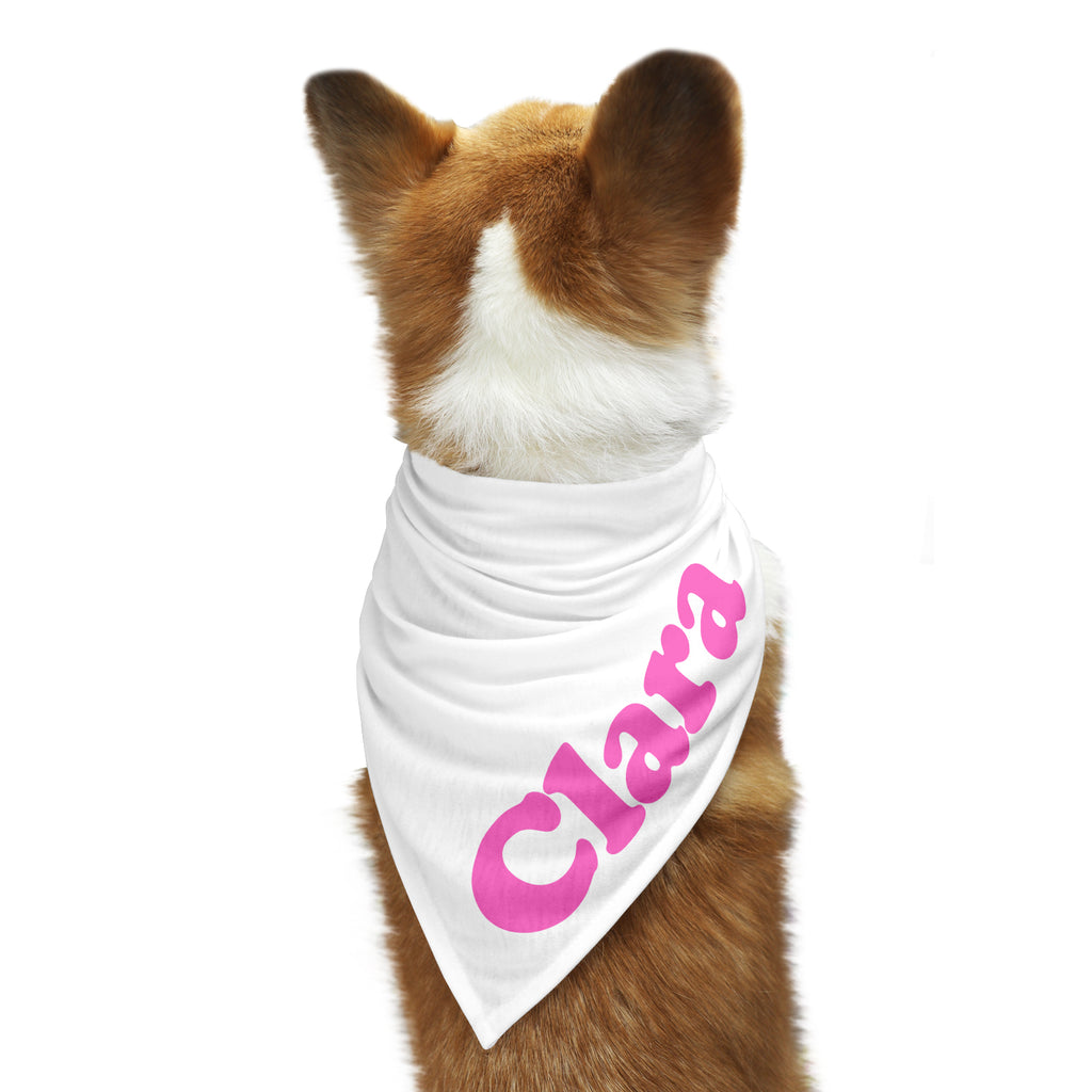 CUSTOM SLOGAN Dog Bandana