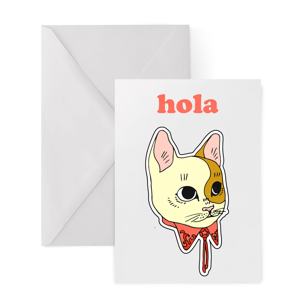 MEXICAT Greetings Card