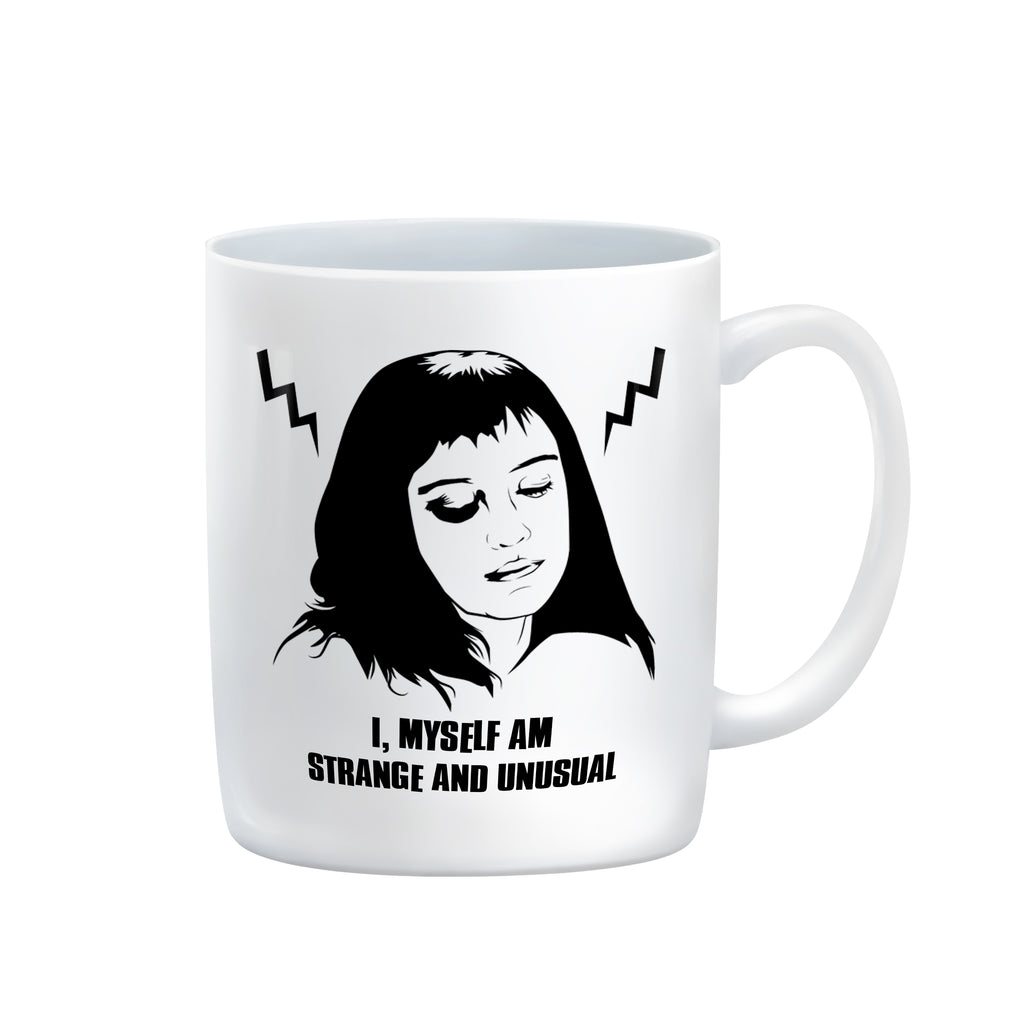 I, MYSELF AM STRANGE & UNUSUAL Mug