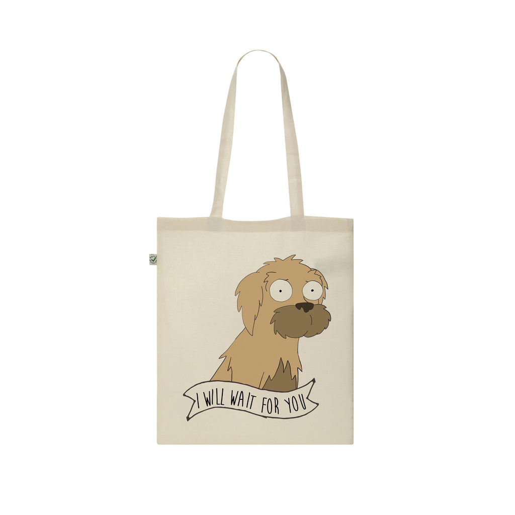 I WILL WAIT FOR YOU Tote Bag