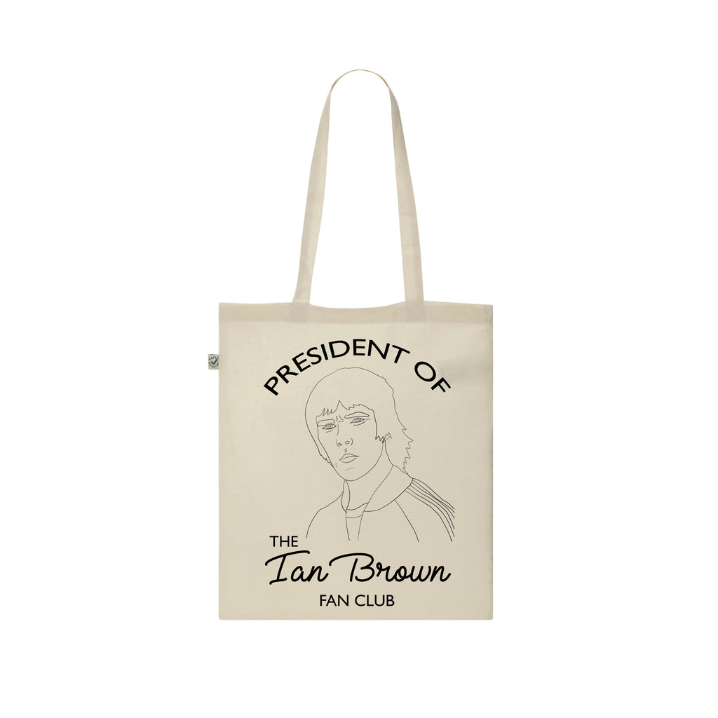 IAN BROWN FAN CLUB Tote Bag