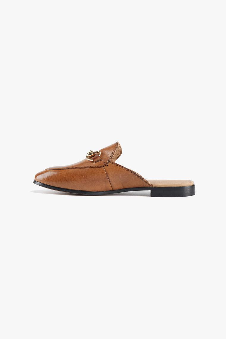 Leather Slip Mules