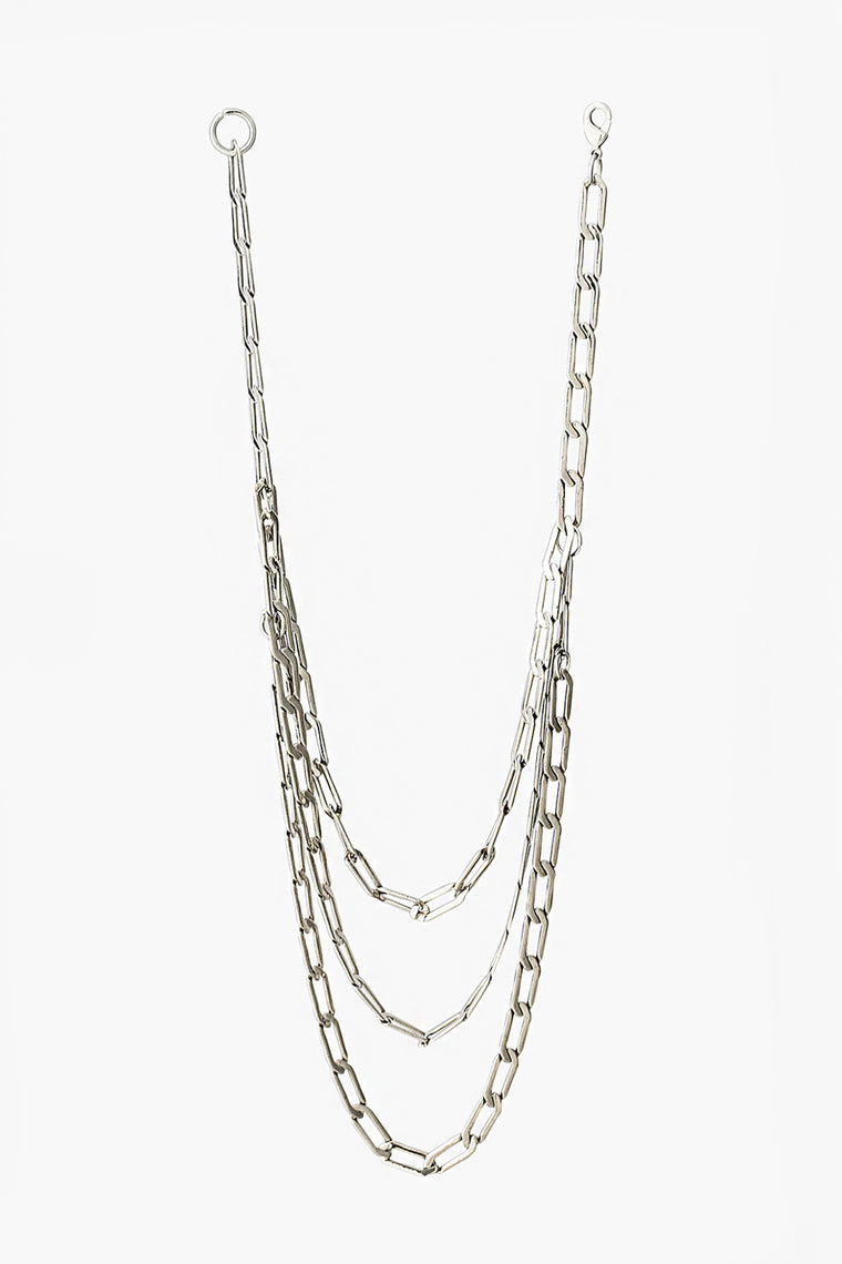 Triple Layered Chain Necklace