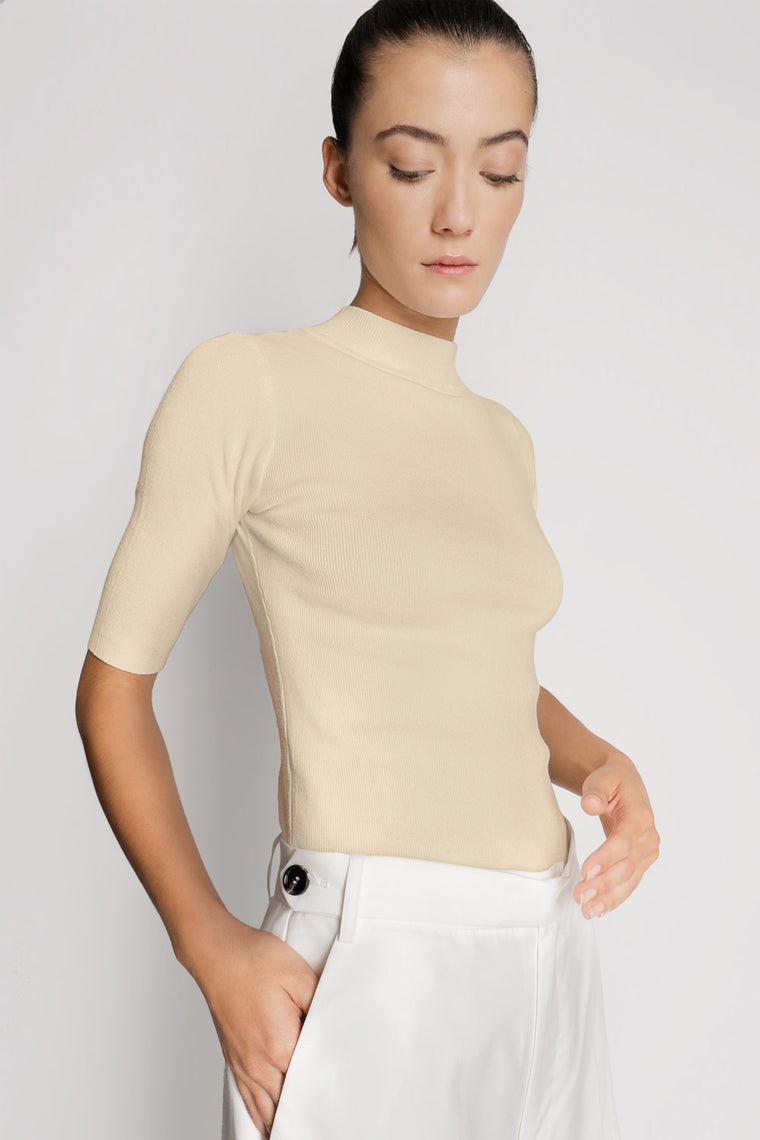 Half Sleeve Knit Shirt