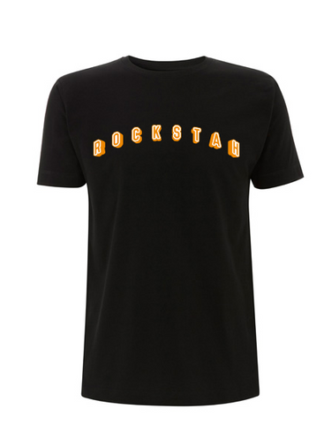 ROCKSTAH - COLLEGE SHIRT BLACK