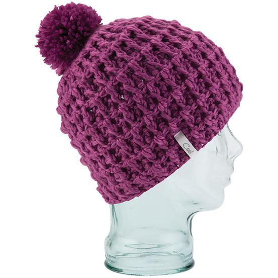 Coal Beanie The Waffle Bright Purple - First Tracks Boardstore