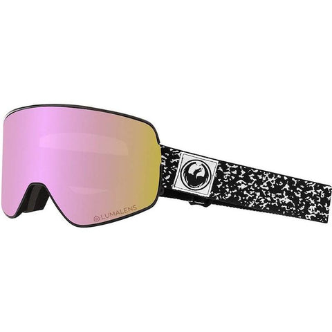Dragon NFX2 Goggle, Scribe w/ LL Pink + LL Dark Smoke - First tracks Boardstore
