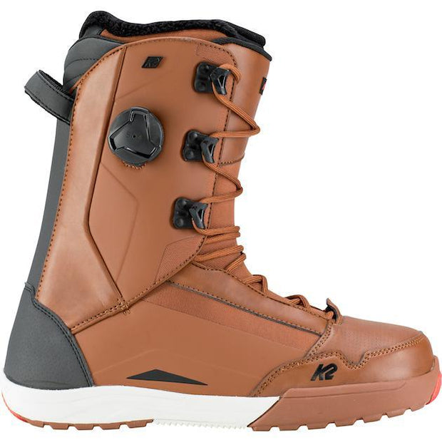 K2 Darko Snowboard Boot Brown 2019 - First Tracks Boardstore