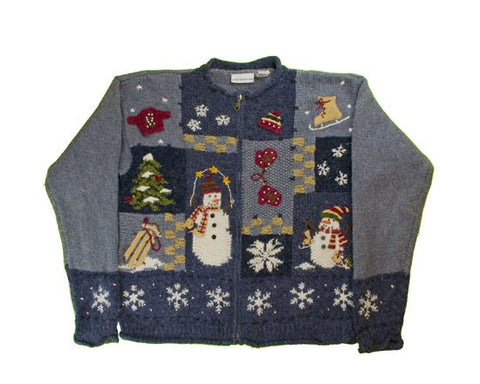 Warm And Fuzzy-Small Christmas Sweater